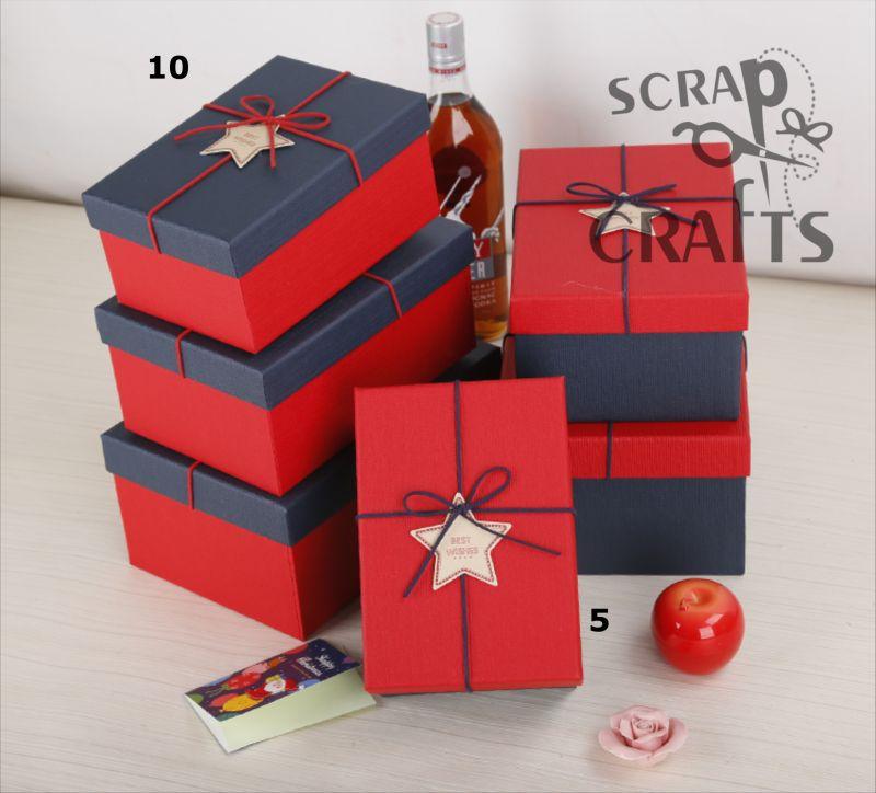 60aafcff61 Υλικά Συσκευασίας    Κουτιά δώρου    Ορθογώνιο κουτί δώρου σετ 3τμχ ...