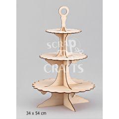 ξύλινη τουρτιέρα