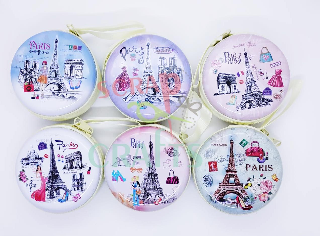 πορτοφόλι μεταλλικό Paris