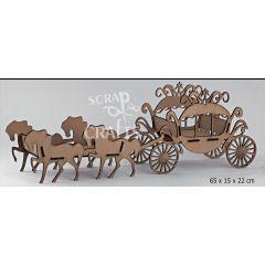 ξύλινη άμαξα