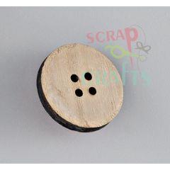 ξύλινο κουμπί