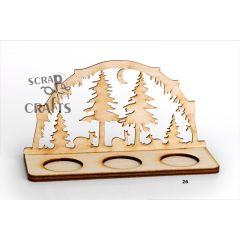 ξύλινο δάσος